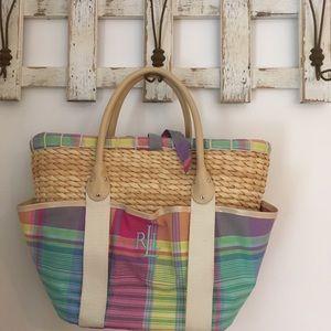 Handbags - 🐝 Ralph Lauren straw bag